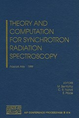 Theory and Computation for Synchrotron Radiation Spectroscopy | auteur onbekend |
