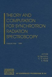 Theory and Computation for Synchrotron Radiation Spectroscopy
