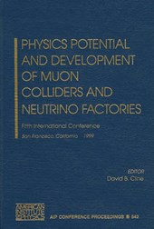 Physics Potential and Development of Muon Colliders and Neutrino Factories |  |