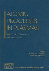 Atomic Processes in Plasmas | auteur onbekend |