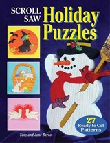 Scroll Saw Holiday Puzzles | Tony Burns & . June |