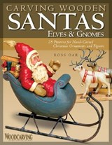 Carving Wooden Santas | Ross Oar |