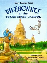 Bluebonnet at the Texas State Capitol | Mary Brooke Casad |