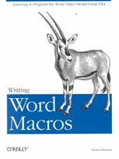Writing Word Macros Rev