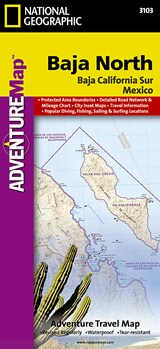 AdventureMap Baja North | National Geographic Maps  Adventure |