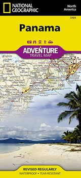 National Geographic Adventure Map Panama | National Geographic Maps  Adventure |