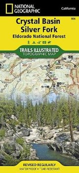 Crystal Basin/Silver Fork/Eldorado National Forest, California | National Geographic Maps  Trails Illust |