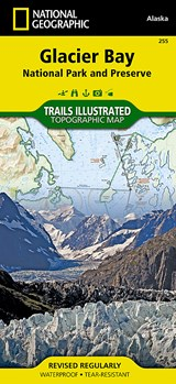 National Geographic Trails Illustrated Topographic Glacier Bay National Park and Preserve | National Geographic Maps |