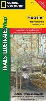 Hoosier National Forest | National Geographic Maps  Trails Illust |