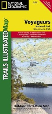 Voyageurs National Park | National Geographic Maps  Trails Illust |