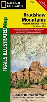 Bradshaw Mountains [Prescott National Forest] | National Geographic Maps  Trails Illust |