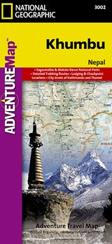National Geographic Adventure Map Khumbu | National Geographic Maps |