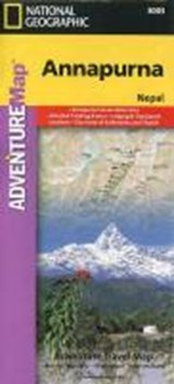 National Geographic Adventure Map Annapurna | National Geographic Maps |