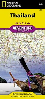 National Geographic Adventure Map Thailand | National Geographic Maps |