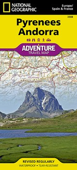 National Geographic Pyrenees Andorra : Europe/Spain & France | National Geographic Maps |