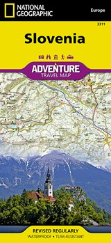 National Geographic Adventure Map Slovenia | auteur onbekend |