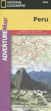National Geographic Adventure Map Peru