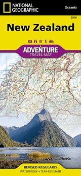 National Geographic Adventure Map New Zealand | National Geographic Maps |
