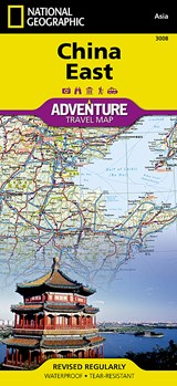 National Geographic Adventure Map China East | auteur onbekend |