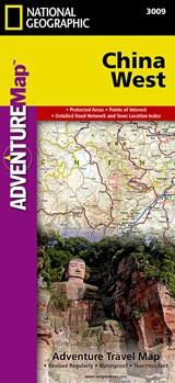 China West | National Geographic Maps  Adventure |