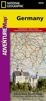 National Geographic Adventure Map Germany | National Geographic Maps  Adventure |