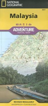 Malaysia Adventure Travel Map | National Geographic Maps  Adventure |