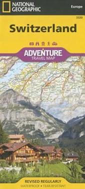 Switzerland Adventure Travel Map