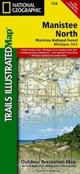 Manistee North [manistee National Forest] | National Geographic Maps  Trails Illust |