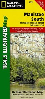 Manistee South [Manistee National Forest] | National Geographic Maps  Trails Illust |