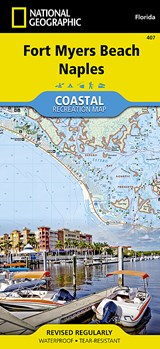 Fort Myers Beach, Naples | National Geographic Maps  Trails Illust |