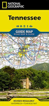 Tennessee | National Geographic Maps |