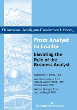 From Analyst to Leader | Kathleen B. Hass |