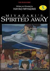 Spirited Away Film Comic