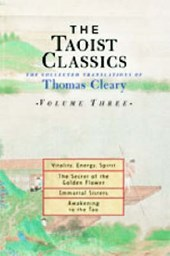 The Taoist Classics, Volume Three | Thomas Cleary |