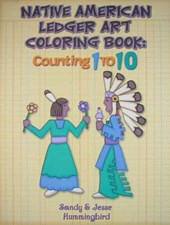 Native American Ledger Art Coloring Book