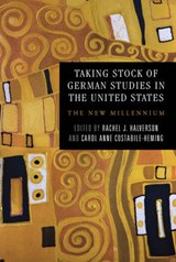 Taking Stock of German Studies in the United States |  |