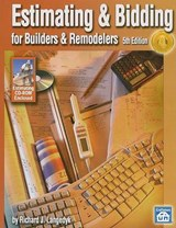 Estimating & Bidding for Builders & Remodelers [With CDROM] | Richard J. Langedyk |