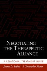 Negotiating the Therapeutic Alliance | Safran, Jeremy D. ; Muran, J. Christopher |