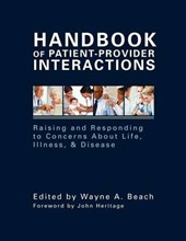 Handbook of Patient-Provider Interactions | Wayne Beach |