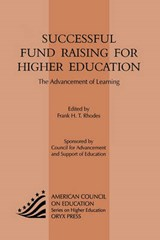 Successful Fund Raising for Higher Education | auteur onbekend |
