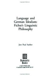 Language and German Idealism | Jere Paul Surber |