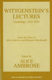 Wittgenstein's Lectures
