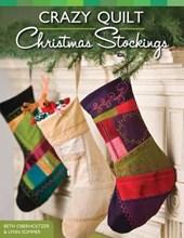 Crazy Quilt Christmas Stockings