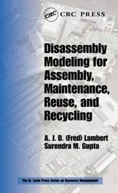 Disassembly Modeling for Assembly, Maintenance, Reuse and Re
