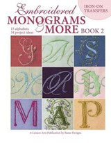 Embroidered Monograms & More Book 2 (Leisure Arts #4366) | Banar |