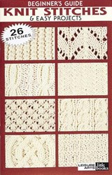 Beginner's Guide Knit Stitches & Easy Projects |  |