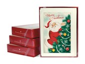 Retro Santa Claus Notecards