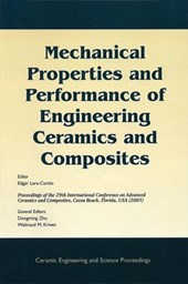Mechanical Properties and Performance of Engineering Ceramics and Composites | Edgar Lara-Curzio |
