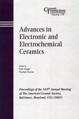 Advances in Electronic and Electrochemical Ceramics | Faith Dogan |