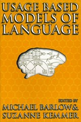 Usage-Based Models of Language | BARLOW,  M |